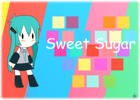 Hatsune Miku - Sweet Sugar by Udhiezt