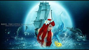 Ariel, the little mermaid by GeneRazART