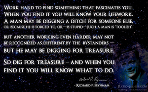 Feynman on life.. by rationalhub
