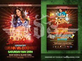 HoeDown Flyer by toxxic817