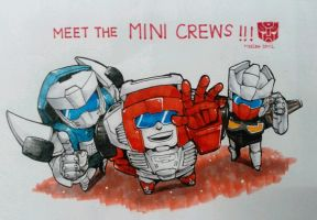 Meet the MINI CREWS by MZ15