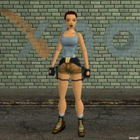 XNA Lara Croft TR1996 by X-N-A