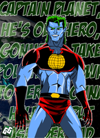 Captain Planet by geogant