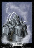 Hollowness - Alphonse Elric by mette-miko