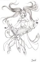 Sona, Maven of the Strings by Noctume