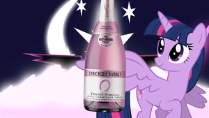 What Do Ponies Drink? -Princess Twilight Sparkle by 4Suit