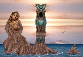 The Stone Siren by Arrhakis