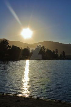 Sunrise @ Lake Hemet by World-Spinner
