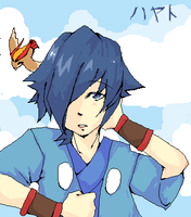Falkner is delicious by nekoshota