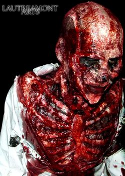 make up body carcass by LAUTREAMONTS