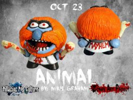 Z.A.P.3 Oct 23 Animal by zombiemonkie