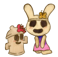 Coco and Lloid by Miss-Lizzifer