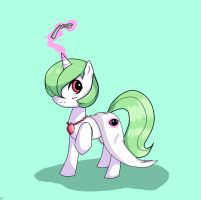 Gardevoir Pony Version by Sagasshi
