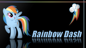 Rainbow Dash Wallpaper by Traxel47