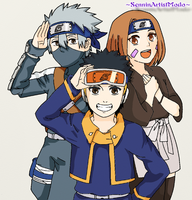 Team Kakashi :3 by SenninArtistModo