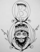 B is for Bearded Lady by ramworship