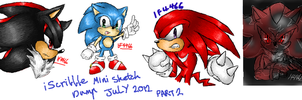 iScribble - July 2012 Mini Sketch Dump by BlueNeedle-Inu