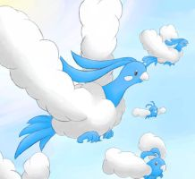 Altaria by CresentShadow