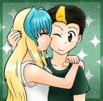 Jamy x Chan soft shading by Lave61
