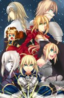 Unlimited Saber Works 2 by FutatsunoKaanjitsu