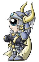Warrior of Light Chibi by RedPawDesigns