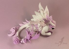 Amethyst rose dragon 2 by AlviaAlcedo