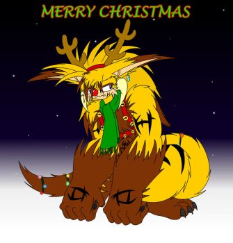 Merry Christmas 2015 by EUAN-THE-ECHIDHOG