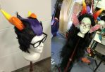 Eridan and Feferi Wigs by Phantom-Shadow