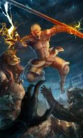 monkey king2!Journey to the West! by ANG-angg