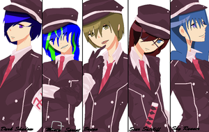 DA Team YAY! XD i dunno was wrong wit me... by Jilguera