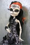 Monster High Skelita Day of the Dead Custom by AdeCiroDesigns