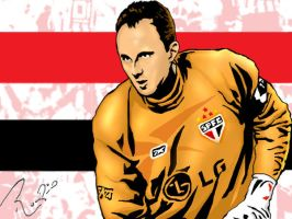Rogerio Ceni by andresauer