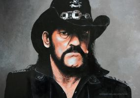 Lemmy Kilmister by andreasmichel