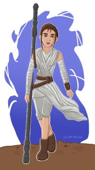 Star Wars - Rey by Miracoin