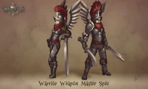 Reconquista- Warrior Weaponmaster by b-cesar
