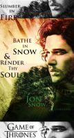 Jon Snow by JrOeKnEeRe