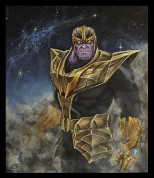 Thanos - Ruler in Chaos by Naomi-LG