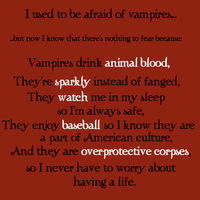 I Was Once Afraid of Vampires by xMischiefManagedx