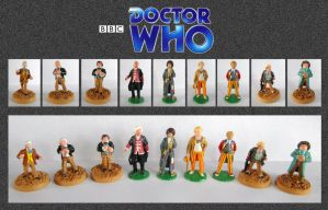 Doctor Who - Miniatures by mikedaws