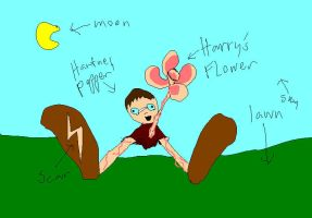Harry's Magical Flower by Hero-Potter