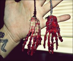 TWD Bloody Hands by GrotesqueDarling13
