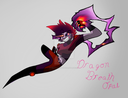 Gemsona, Opal (dragon breath opal) by oracle-ryuu