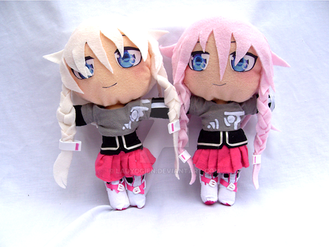 Vocaloid Plush - IA by LadyOgien
