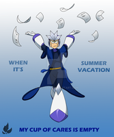 When it's summer vacation by zavraan