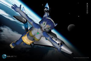 Krystal In Space by xXTREMEXx