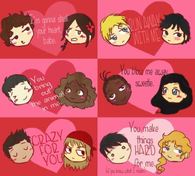 PJatO Valentine's Day Cards by Thatu