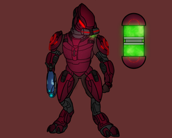 Sangheili Flame Trooper by PD-Black-Dragon