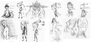 10 free sketches by Tulpen-Teufel