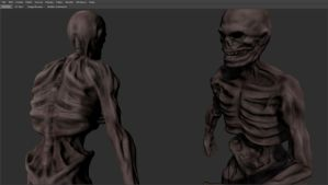 Skeleton - High Poly by iemersonrosa