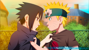 Naruto And Sasuke cycle of hate by Kyuubii9